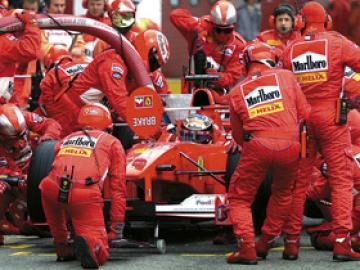 The Pit Stop in F1