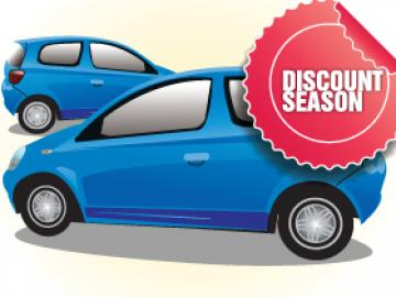 Discount Season for Cars