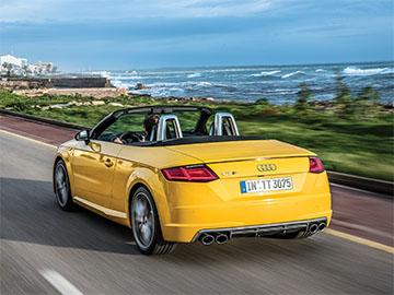 Audi TT is a stylish car and fun to drive