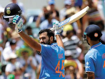 The fall and rise of Rohit Sharma