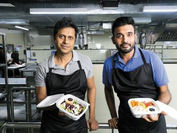 By hook or by cook: This duo is trying to build a 'healthy' food empire