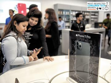 The Apple effect: iPhones, iPads still on top of India's mind