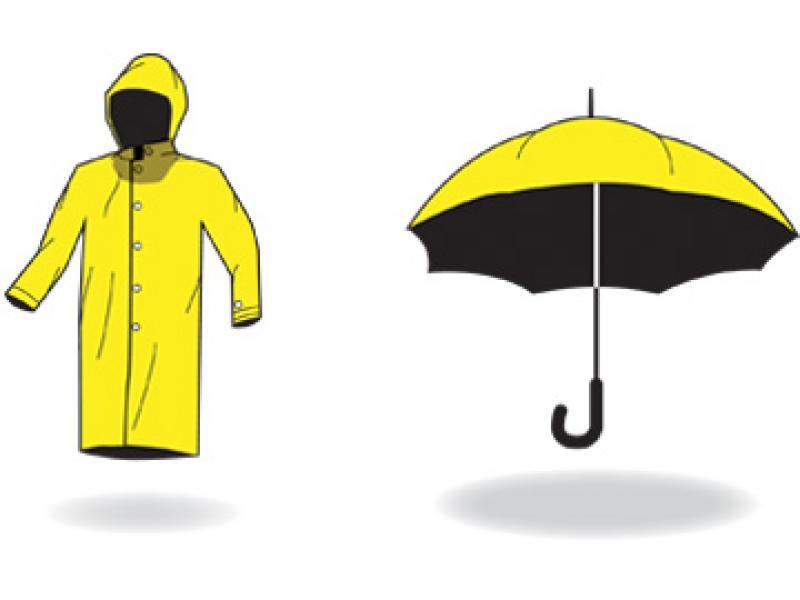 The Cost of Rainwear