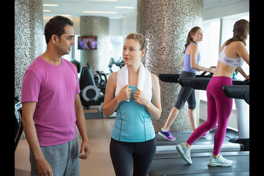 Get a fitness instructor and then measure the progress next year by aggregating data of employee wellness parameters. (Photo: Shutterstock)