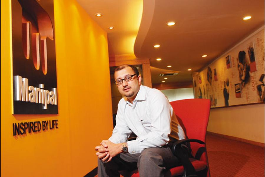 MODEL 2 Ranjan Pai, CEO, Manipal Education and Medical Group. Manipal K-12's model involves getting into a management contract with trusts that already run schools but are struggling