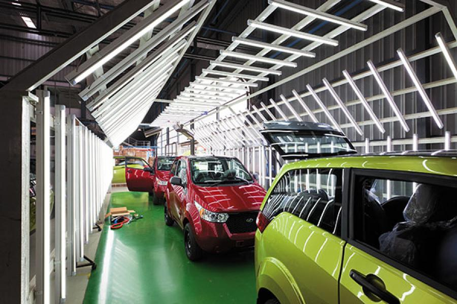 Inside the Reva factory
