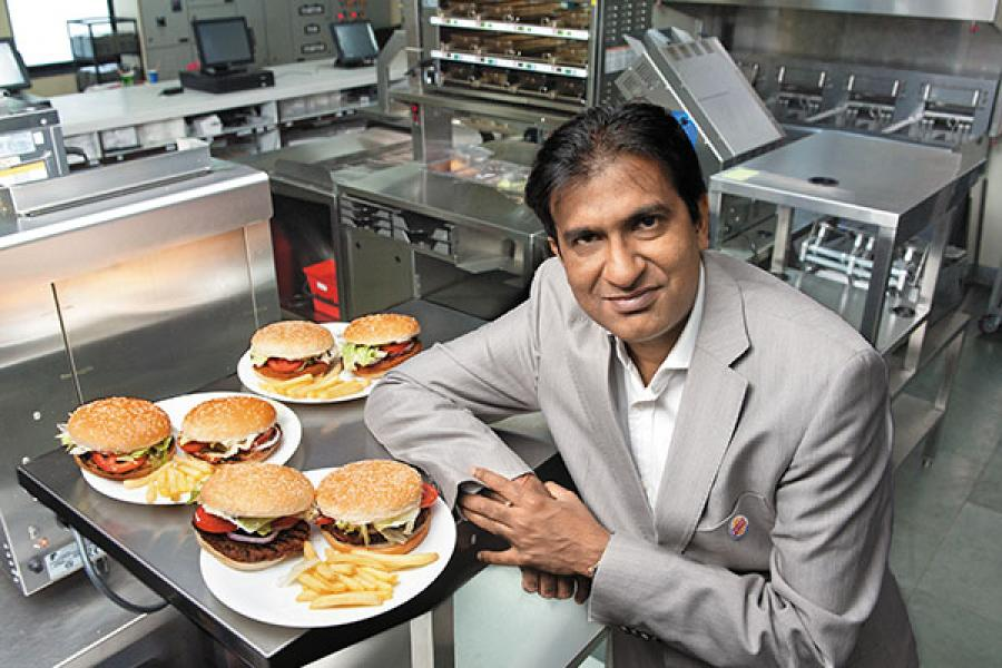 Burger King eyes a big slice of the Indian market