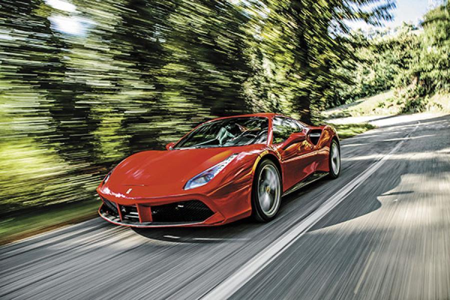 Ferrari 488 Spider packs more power