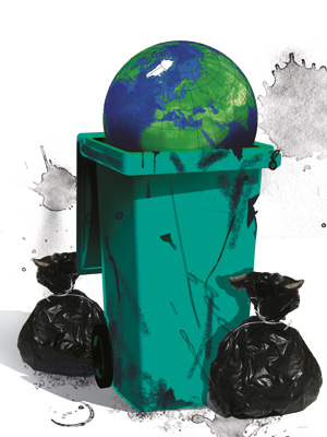 Garbage Generated Around The World