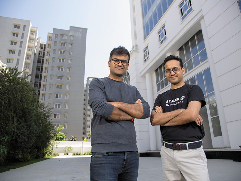anshuman singh and abhimanyu saxena founders of scaler academy