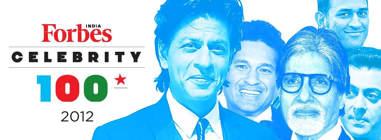 2012 Celebrity 100 - Forbes India Magazine