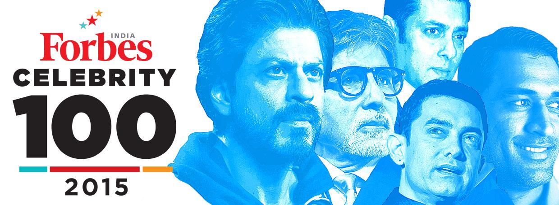 2015 Celebrity 100 - Forbes India Magazine