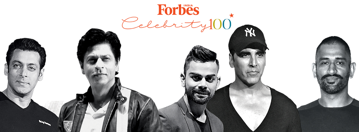 2016 Celebrity 100 - Forbes India Magazine