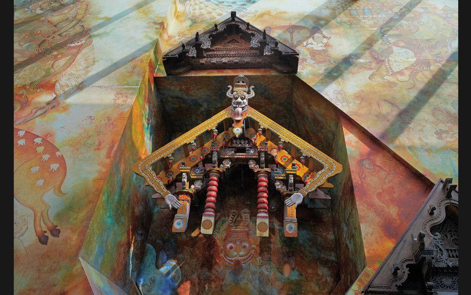Mumbai T2 terminal's Art Collection