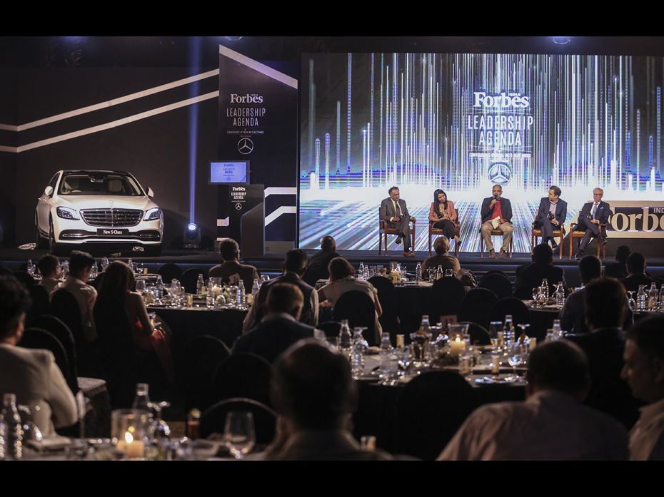 Forbes India Leadership Agenda discusses all things leadership and sustainablity