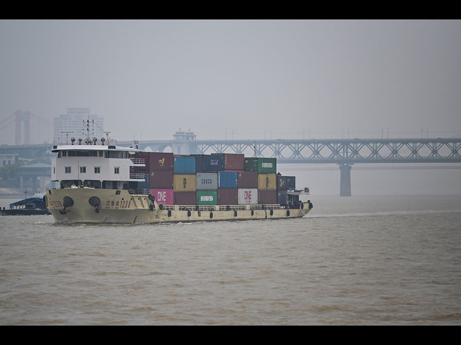 12 Yangtze River in Wuhan
